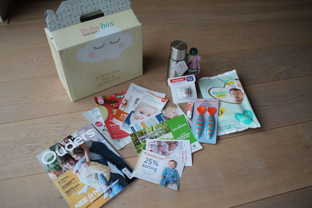 Babybox: overzicht inhoud