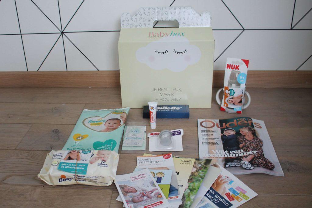 Review Babybox: Inhoud van de Babybox